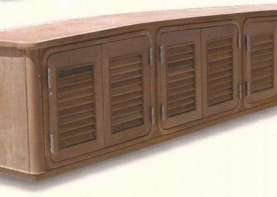 marine teak cabinets-5