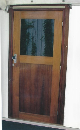 marine teak doors with glass-4