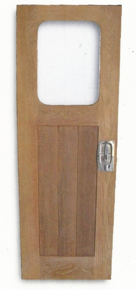 marine teak doors with glass