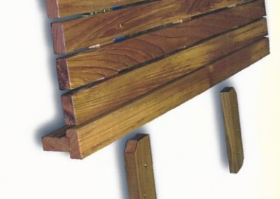 Benches with SS Hinges-2