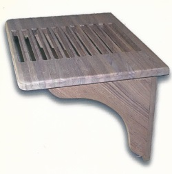 Benches with Solid Teak Brackets-2