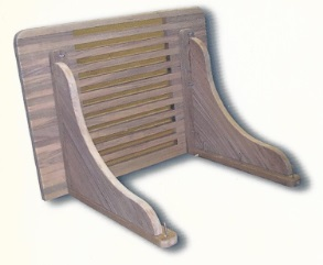 Benches with Solid Teak Brackets