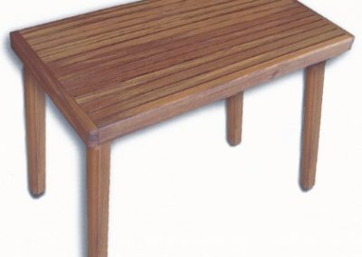 Benches with Solid Teak Legs
