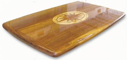 Customized Compass Rose Table Top